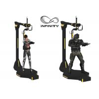 Quality INFINITY Electric Motion Virtual Reality Walking Platform For Shopping Mall wholesale
