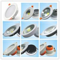 China 5w - 50w Indoor Bathroom Led Downlights Led Cob Ceiling Light Aluminum Lamp Body Material on sale