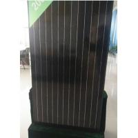 Quality 30V 260W Black Grade A Solar Panel Anti Reflective Glass For Home Lighting Indoor wholesale
