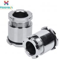 Quality Chrome Plating JIS10 Marine Cable Gland With Nickel Plated Hoop wholesale
