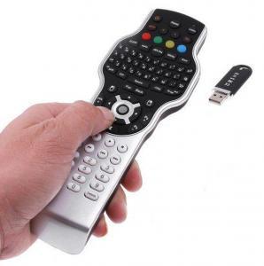 China 2.4G Mini Wireless Keyboard Jogball Mouse with IR Remote on sale