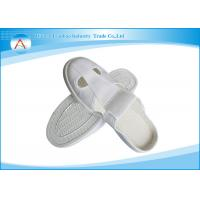 Quality White Nice Shape PU Sole Leather Upper Doctor Shoes ESD Slippers for Antistatic wholesale