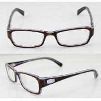 Quality Custom Rectangle Flexible Mens Acetate Eyeglasses Frames For Promotion wholesale