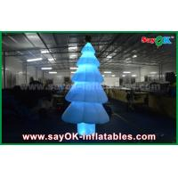 China 3m Inflatable Light Decoration LED Lighting Christmas Tree With Nylon Material on sale