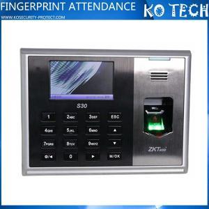 Quality KO-S30 Linux Supported Fingerprint Reader Time Attendance wholesale
