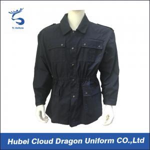 Europe Customized Security Guard Uniform Jackets / Police Duty Jackets Long Sleeves