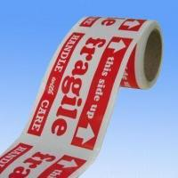 Quality Fragile Label with Water Base Adhesive, Measuring 3 x 5 inches wholesale