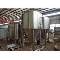China 20HL Conical Fermentation Tank Titanium Plate Surface CE ISO UL TUV Certification on sale