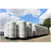 China Ethanol / CNG Compressed Air Storage Tank , 8mm Thickness Air Compressor Holding Tank on sale
