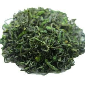 China Mount Emei Early Spring Organic Bamboo Leaf Green Tea / Zhu Ye Qing Tea on sale
