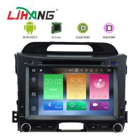 China KIA Sportage 8.0 Android Car DVD Player With GPS Stereo Radios Maps on sale