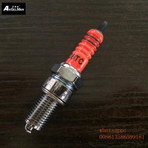 125cc Motorcycle Spark Plugs Orange D8TC D8EA X4CC 0241145507 For BMW