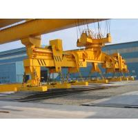 China Revolving Electromagnet Double Girder Bridge Crane With  Slewing Carrier Beam on sale