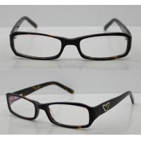 Quality Rectangular Acetate Optical Eyewear Frames, Black Retro Mens Eyeglasses Frames wholesale