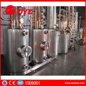 Cheap 130gal Wine Copper Distilling EquipmentAlcohol Distiller Semi - Automatic for sale