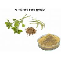 China Fenugreek Seed 	Plant Extract Powder 50% Saponins Lowering Blood Fat And Sugar on sale