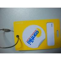 China Promotion plastic baggage Tag on sale