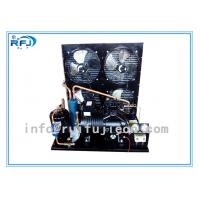 Quality Water Cooling Refrigeration Condensing Units , Horizontal cold room condensing unit Black R22  4-30HP wholesale