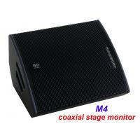 """Quality PA Sound Equipment 480W 3"""" + 15"""" Plywood Coaxial Stage Monitor For Living Event And Show wholesale"""