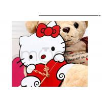 Quality Stylish Plastic Wall Sticker Clock Hello Kitty Modern Alarm Clocks wholesale