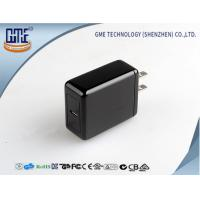 Quality Black 5V 3A  Type - C Quick Charger for Mobile Devices , Fast Data transfering wholesale