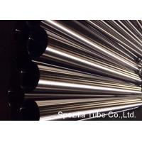 Quality ASTM A511 Welded / Seamless Stainless Steel Tubing Polished Round Tube AISI 304 316 wholesale