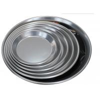 Quality Alum Alloy Bright Surface Pizza Oven Tray , Pizza Baking Tray For Home Kitchen wholesale