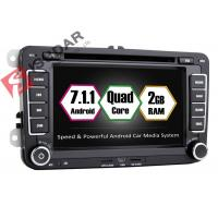 Cheap Android 7.1.1 SKODA / VW Car DVD Player For Seat With Canbus Quad Core 2G RAM for sale