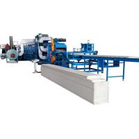 Quality 0.3-0.8mm 3- 6m/min Speed PU Sandwich Panel Production Line With Auto Stacker wholesale