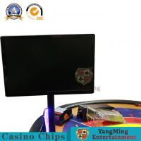 China HD LCD Computer Monitor Baccarat Gambling Systems Dedicated Logo Black Display on sale