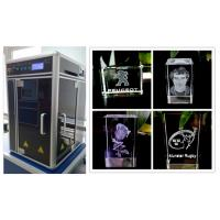 Quality Air Cooling 4000HZ 3D Laser Engraving Machine Diode Pumped For Glass Crystals wholesale
