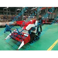 Quality 4LZ-0.7 rice and wheat combine harvester, small paddy farm harvester wholesale