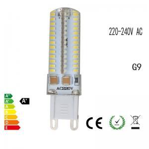 Quality 5W G9 LED Bulb light SMD3014 360 degree Silicaon base led Corn lamp 220V-240V Replace G9 Halogen Lamp 220-240V / 110V wholesale