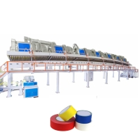 Buy cheap Water Based Acrylic BOPP Jumbo Roll Solvent Adhesive Coating Machine from wholesalers
