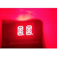 Quality High quality cheap price 0.54 inch 2 digits 14 Segment super red LED Graphic-Bar Display common anode wholesale