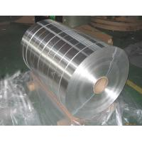 China Alloy Aluminum Strip Roll Thickness 0.2-0.4mm For GLS Lamps / Tube Lights on sale