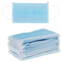 China High Filtration Non Woven Face Mask , Earloop Medical Mask Customized Color on sale