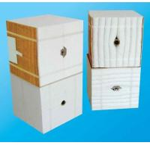 Quality Kiln Furance Ceramic Fiber Modules Thermal Shock Resistance FS-4098 wholesale