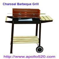 China Charcoal Barbeque Grill with shelves on sale
