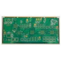 Quality 1.6m 4 MHz 8 Layer Immersion Gold 0.2mm Rigid  PCB Boards Assembly For lighting wholesale
