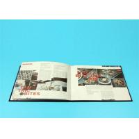 Quality 400gsm Hardcover Book Printing For Catalogue / Brochure / Magazine wholesale