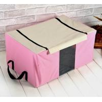 cheap relax pink storage case underbed polyester storage box bedding warerobe bag of hy. Black Bedroom Furniture Sets. Home Design Ideas