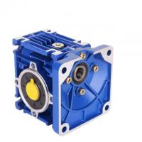 Quality Worm Shaft Mounted RV Reducer , Worm Reducer Gearbox Standard Port Size wholesale