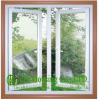 China 10mm Double Glazing UPVC Casement Windows For Residential Projects,Energy saving on sale