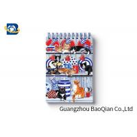 Quality Spiral Binding 3D Lenticular Personalised Stationery Notebooks Cartoon Pet Hardcover wholesale