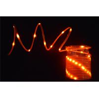 Orange mini Fancy Rope Light wholesale 4.5mm Battery operated led mini rope lights - 104422323