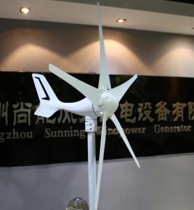 China 400W five blades low star up wind speed mini wind turbine on sale