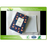 Quality Plastic Paper Double Spiral Bound Notebook With Elastic Band Spiral Ring wholesale