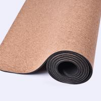 China Skid Resistance Soft Cork Yoga Mat Exercise Fitness,ideal balance,cork material surface on sale