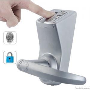 China Home Door Lock Fingerprint And Password Door Lock Access Control System on sale